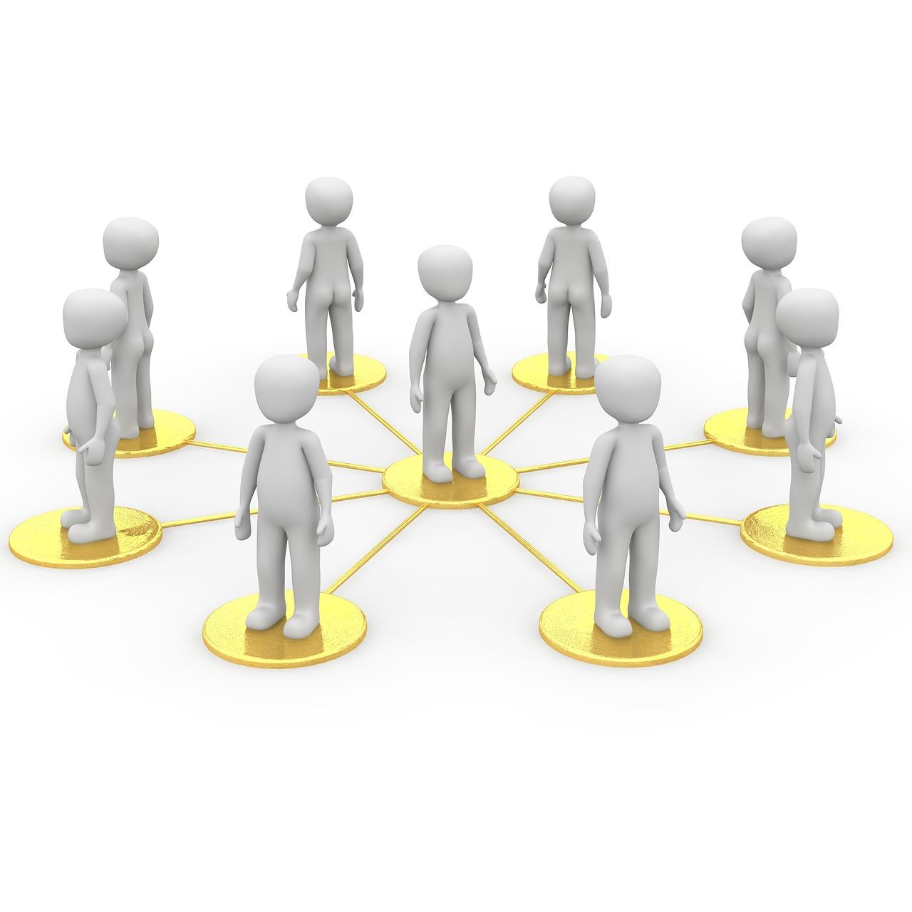 グループ繋がり