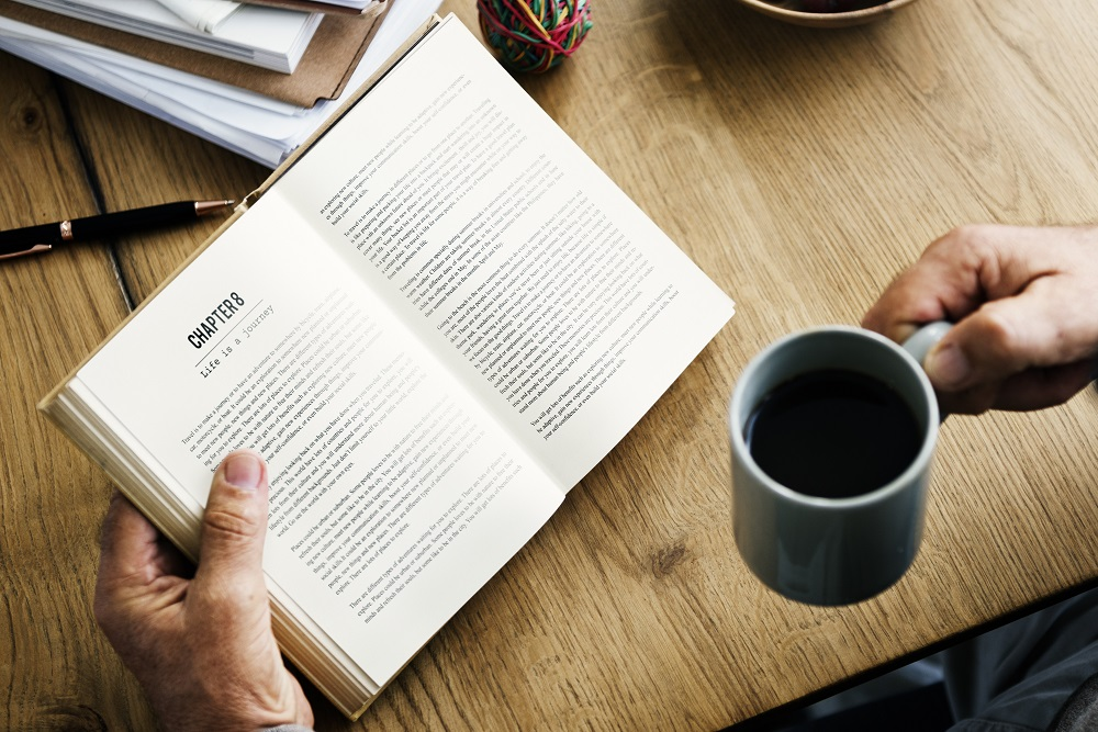 Coffee Break Reading Travel Book